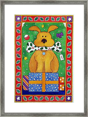 The Special Present Framed Print by Cathy Baxter
