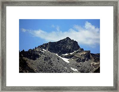 The Spectacular Bitterroot  Framed Print by Larry Stolle