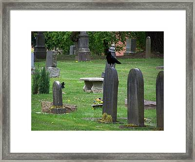 The Spectators Framed Print