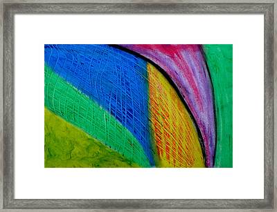 The Speed Of Light Framed Print