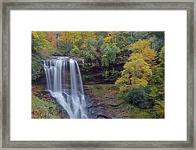 The Spendor Of Highlands Dry Falls Framed Print by Mary Anne Baker