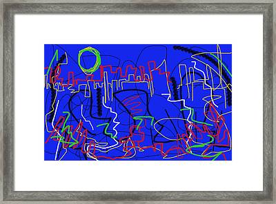 The Spheres  Framed Print by Paul Sutcliffe