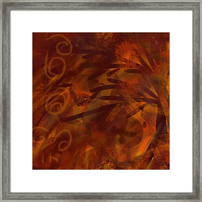 The Spice Tree Framed Print