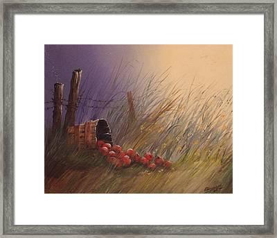 The Spill   #011 Framed Print by Frederick  Skidmore