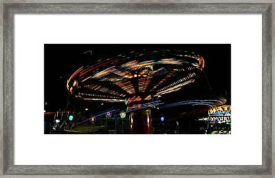 The Spin Framed Print by Jp Grace