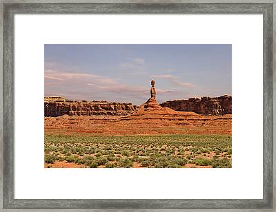 The Spindle - Valley Of The Gods Framed Print by Christine Till