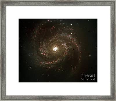 The Spiral Galaxy M100 Framed Print by Paul Fearn