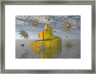 The Spiral Tower II Framed Print by Manny Lorenzo
