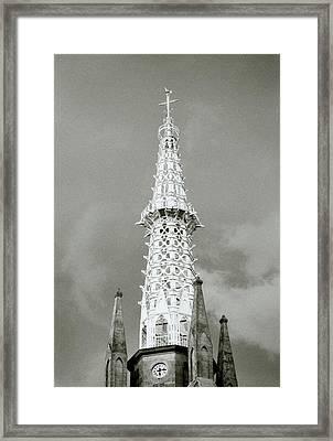 The Spire Framed Print by Shaun Higson