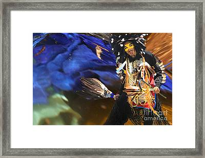 The Spirit From Above Framed Print by Angelika Drake