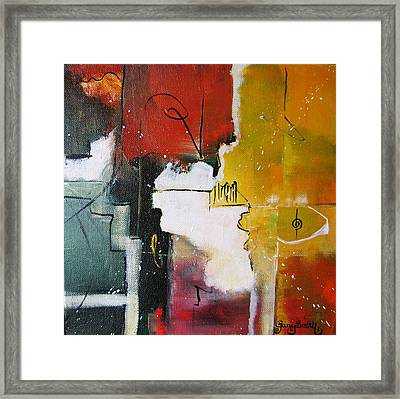 Framed Print featuring the painting The Spirit by Gary Smith