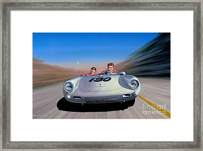 The Spirit Lives Framed Print by Michael Swanson