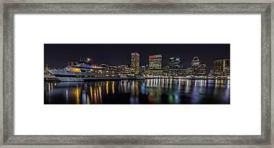 The Spirit Of Baltimore Framed Print by Rick Berk