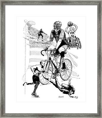 The Spirit Of Freedom Framed Print by Joseph Juvenal