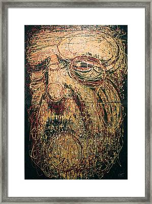 The Spirit Of Genius Framed Print by Kate Tesch