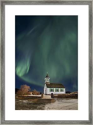 The Spirit Of Iceland Framed Print