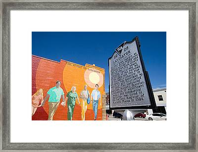 The Spirit Of Lancaster Framed Print by Joseph C Hinson Photography