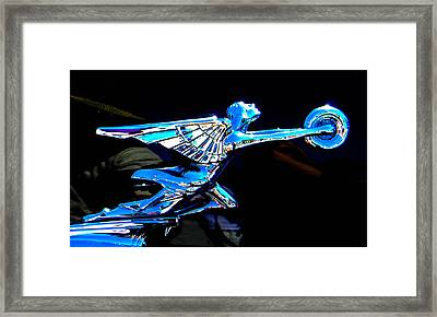 The Spirit Of Speed Framed Print by Christy Usilton