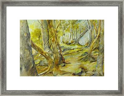 The Spirit Of The Forest I Framed Print