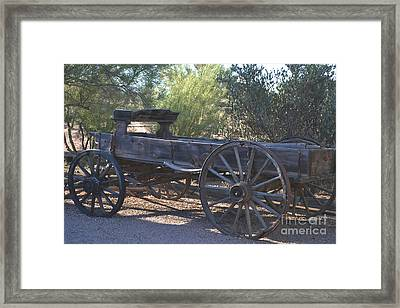 The Spirit Of The Old West Framed Print by Beverly Guilliams