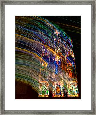 The Spirit Of The Saints Framed Print by Kathleen K Parker