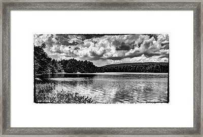 The Splendor Of Bubb Lake Framed Print by David Patterson