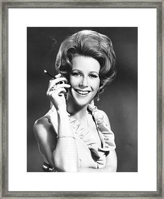 The Split, Julie Harris, 1968 Framed Print by Everett