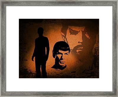 The Spocks Framed Print