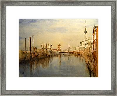 The Spree Berlin Framed Print
