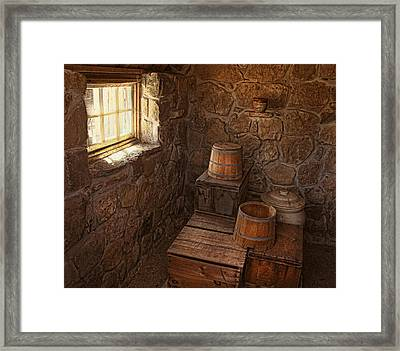 The Spring House Framed Print by Pat Abbott