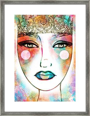 The Spring Queen Framed Print