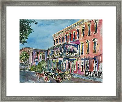 The Springer Opera House Framed Print