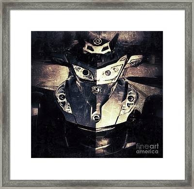 The Spyder Framed Print by Patricia Januszkiewicz