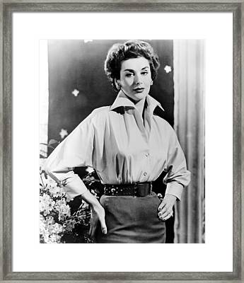 The Square Ring, Kay Kendall, 1953 Framed Print by Everett