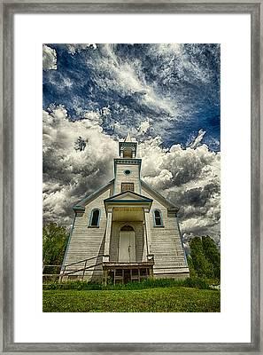 The Squaw Bay Church Framed Print by Jakub Sisak