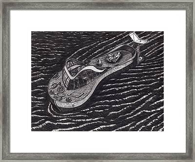 The Ss Al Bundy Framed Print by Richie Montgomery