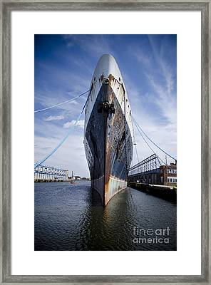 The S.s. United States Framed Print