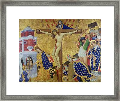 The St. Denis Altarpiece Framed Print