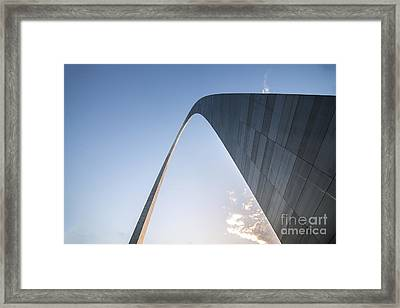 The St. Louis Gateway Arch 20 Framed Print
