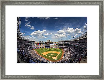 The Stadium Framed Print