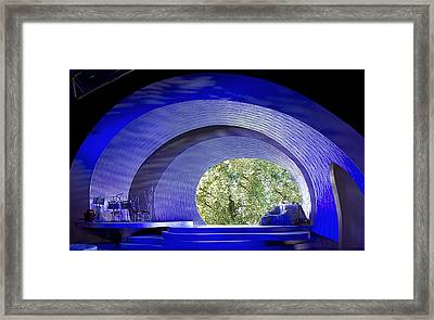 The Stage Framed Print