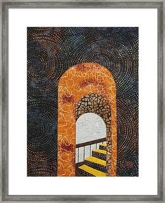 The Staircase Framed Print by Lynda K Boardman
