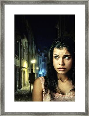 The Stalker Framed Print by Carlos Caetano