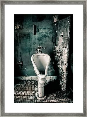 The Stall Framed Print by Gary Heller