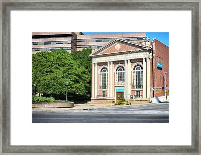 The Stamford Savings Bank Framed Print