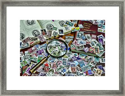 The Stamp Collector Framed Print by Paul Ward