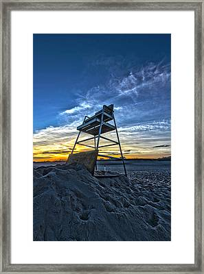 The Stand At Sunset Framed Print