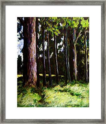 The Stand Framed Print by Charlie Spear