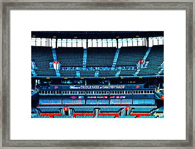 The Stands At Oriole Park Framed Print