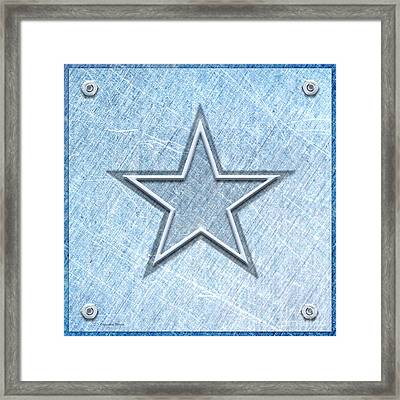 The Star Framed Print by Cristophers Dream Artistry